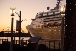 Disney Wonder at Port of Los Angeles