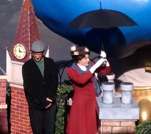 Disney Characters Mary Poppins and Bert