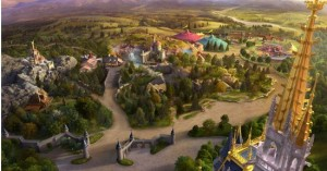 Disney News Artist View of Fantasyland
