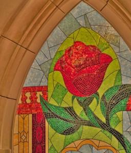 Enchanted Rose Mosaic Fantasyland
