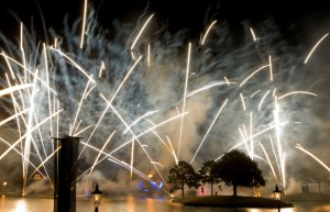 Disney Fireworks Show Illuminations can be seen at Epcot