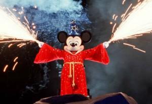 Mickey Mouse in Fantasmic