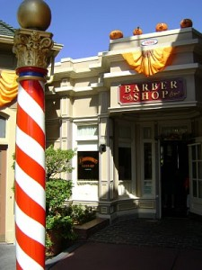 Harmony Barber Shop Magic Kingdom Disney World