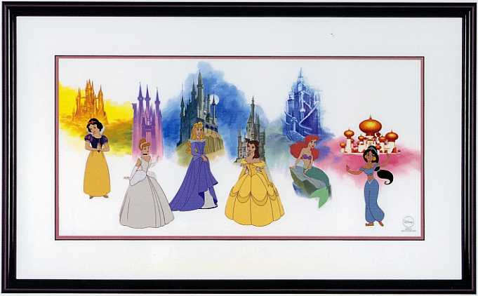 disney art princess