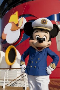 Disney Cruise Line Mickey Mouse in Galveston