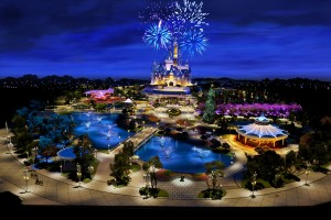 Disney News Shanghai Disneyland Model