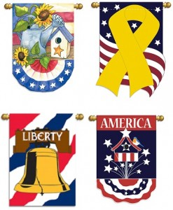 Merchandise Events in Disney World - Americana Flags