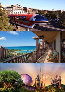 Disney Vacation Destinaton Packages for 2014