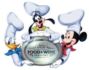Epcot Food and Wine Festival Menu