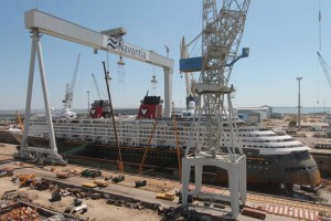 Disney Cruise Line Magic Under Renovation