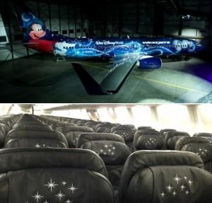 Disney News Sorcerer Mickey Plane West Jet