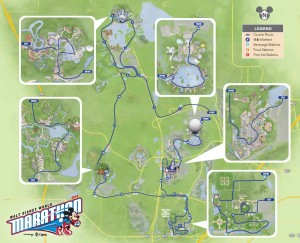 Disney World Marathon Course
