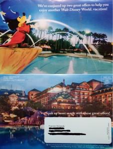 Disney Discounts Mailbox