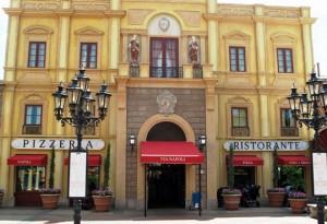 Disney Dining at Via Napoli