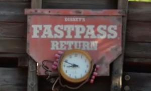 Planning Fast Pass Return Times