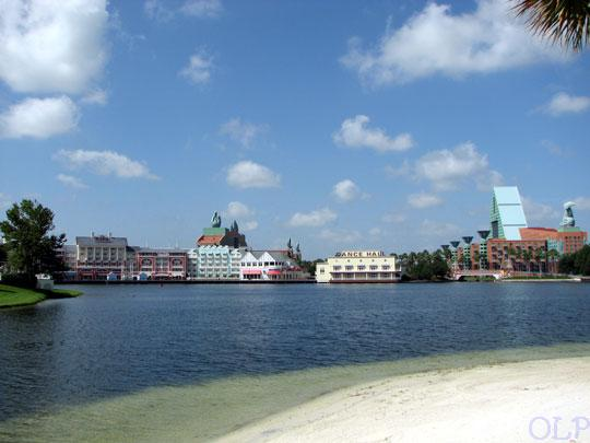 Epcot Resorts Boardwalk View From Beach Club Beach