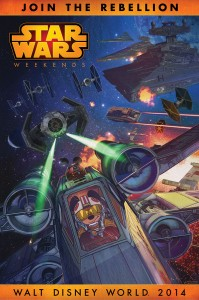 Star Wars Weekends Poster 2014