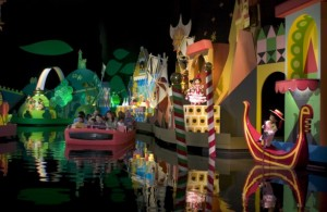 It's a Small World boat ride.