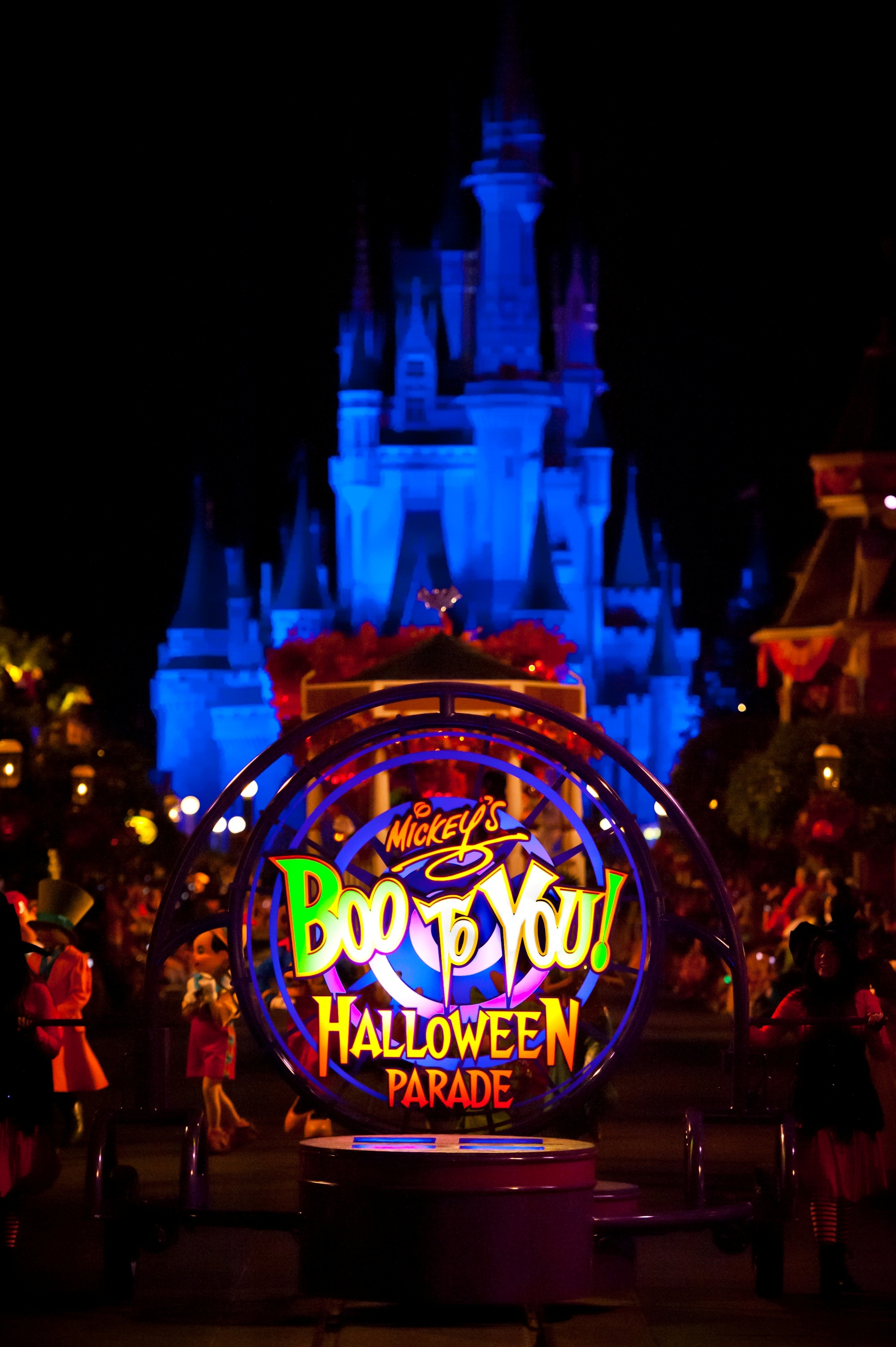 2014 Mickey's Not So Scary Halloween Party at Disney World
