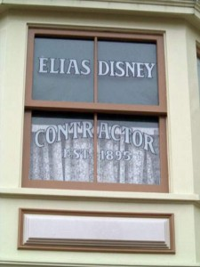 DL Elias Disney Sign