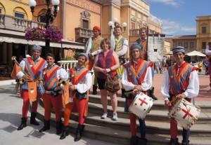 Sbandieratori Di Sansepolcre (the Flag Wavers of  Sansepolcro) at Epcot