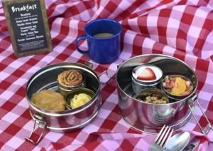Disney's Escape to Walt's Wilderness tour breakfast