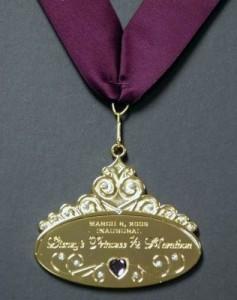Princess 1/2 Marathon Medal