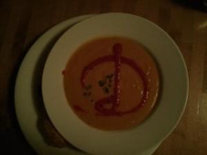 Butternut Squash Soup Disney Dining
