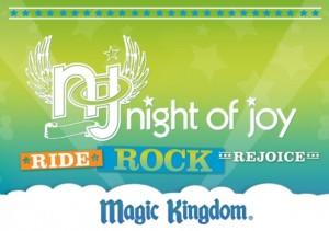 Magic Kingdom Night of Joy Ride Rock Rejoice