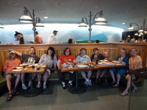 Disney Dining OLP Travel at Garden Grill