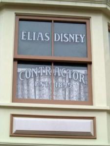 DL Elias Disney Sign