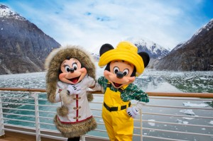 Disney Cruise Alaska with Mickey and Minnie