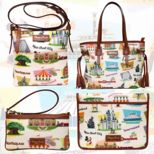 Disney Dooney and Bourke Retro pattern