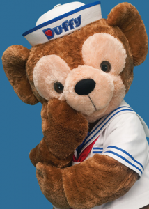 Duffy the Disney Bear Character