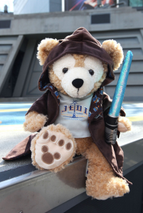 Duffy the Disney Bear Jedi