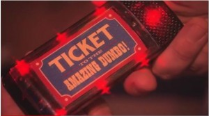 Dumbo the Fying Elephant Ticket Beeper