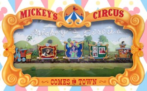 WDW Mickey's Circus Pin Event at Epcot