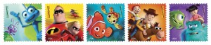 Disney Pixar Stamps OLP Travel