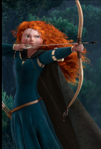 Disney Princess Merdia fromm Movie Brave