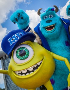 Monsters University Characters