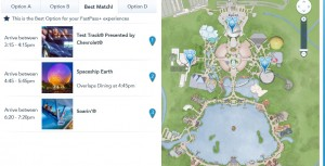Disney Magic Bands Epcot Fast Passes