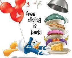 Walt Disney World free dining promotion